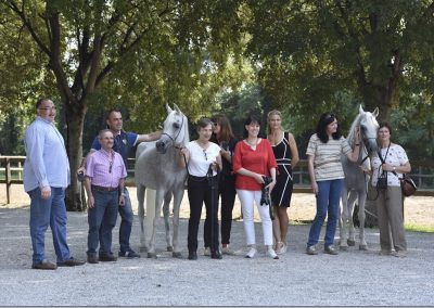 Stud Farm tour Italy 2018